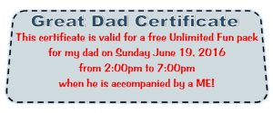 father day coupon