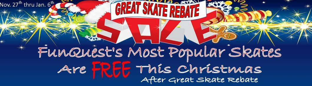 FREE Skates for Christmas? Only at FunQuest!