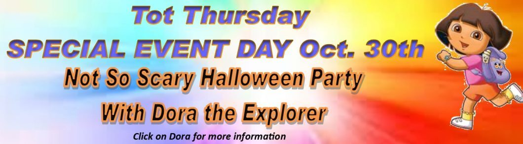 Tot Thursday Halloween Event