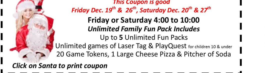 $10 off Family Fun Pack