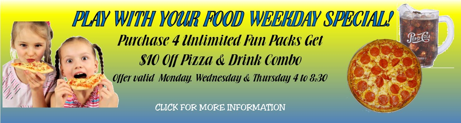 Play with food weekday special 5.15
