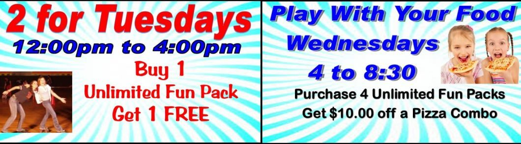 Tuesday & Wednesday Summer Special