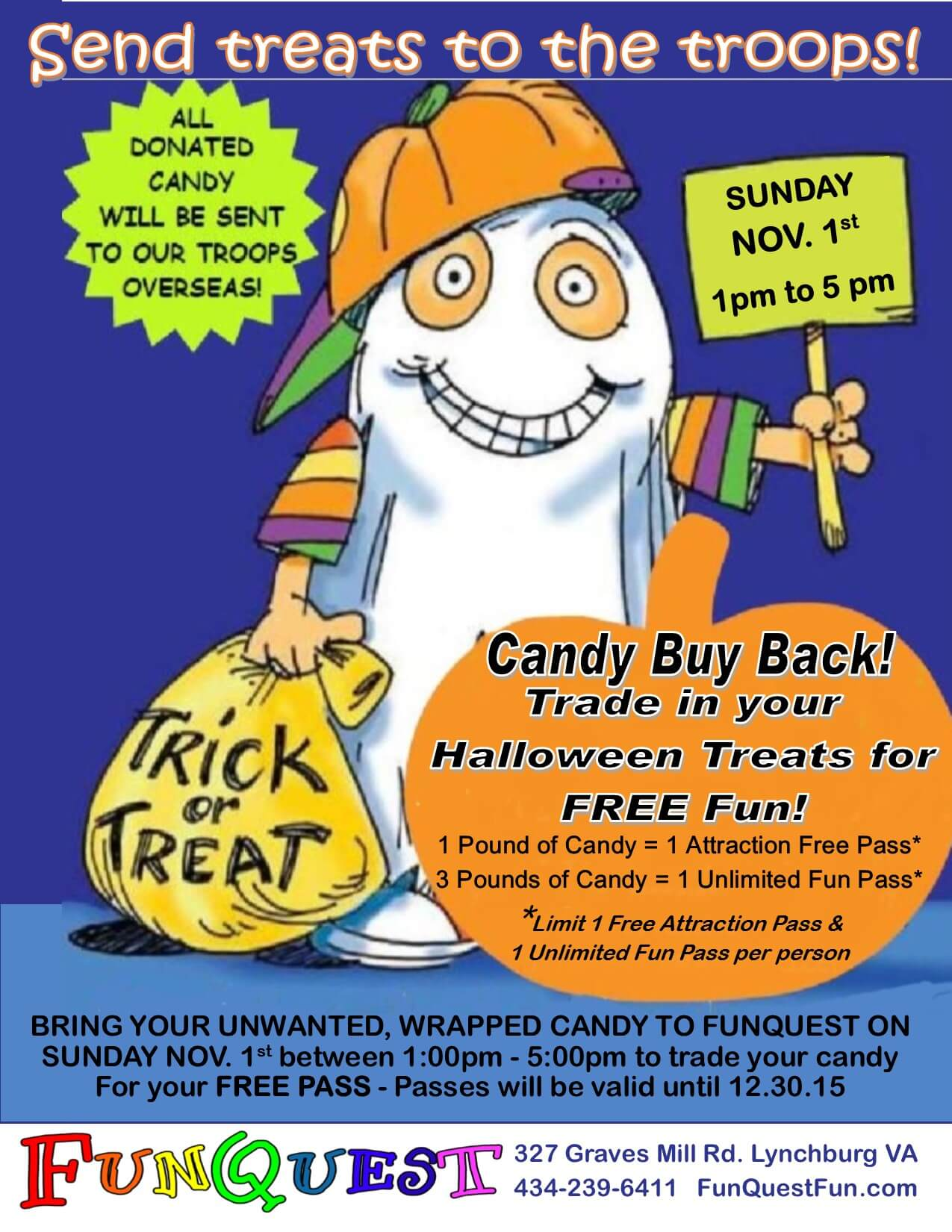 buy back - Halloween Events In Va
