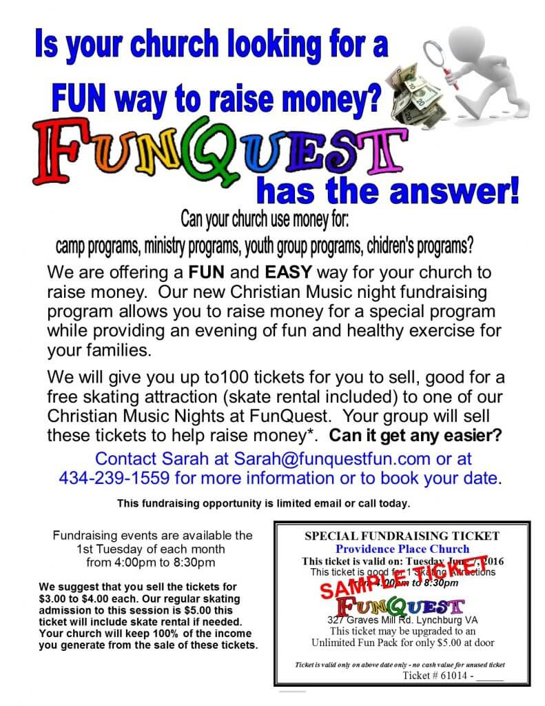 2016 Chrisitan Fundraiser Flyer