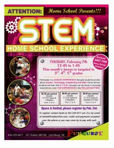 stem homeschool experience