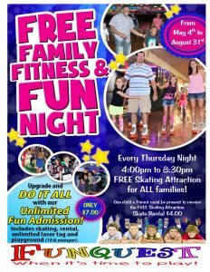 free family fitness and fun night