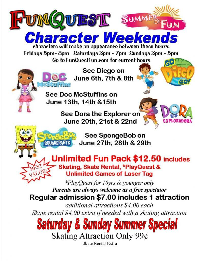Look Who's At FunQuest in June