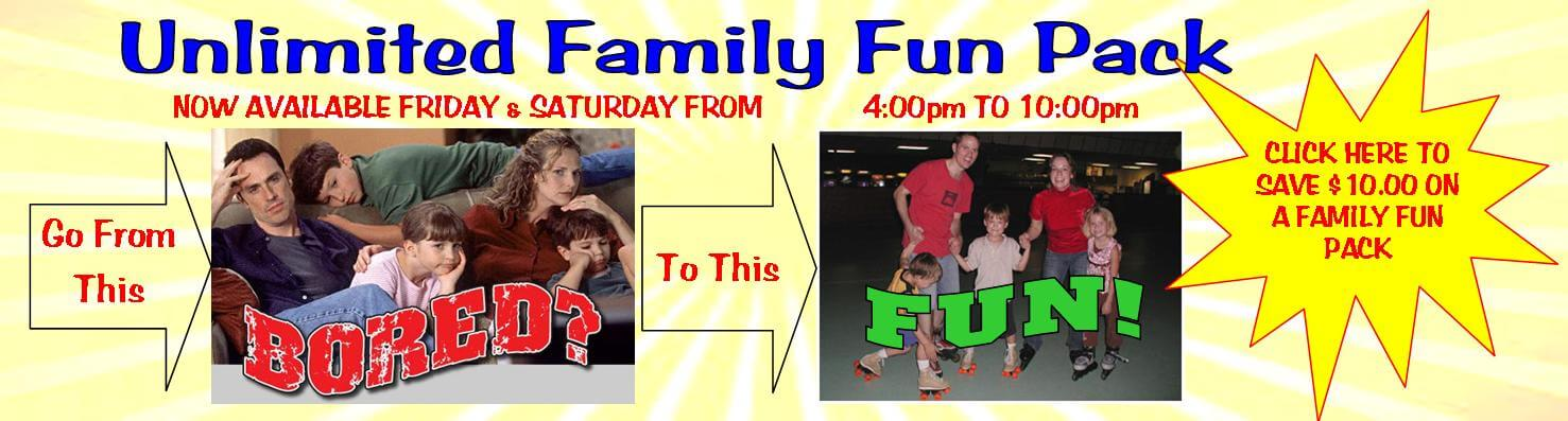 Bring Your Family To Funquest All Summer Long