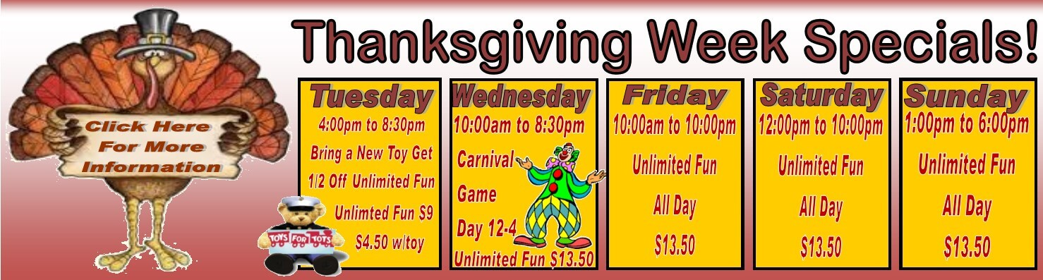 Thanksgiving week special 2017