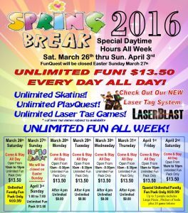 Spring Break Madness 2016